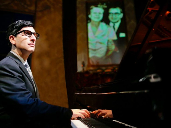 Live from Florence, Italy, Hershey Felder as Irving Berlin