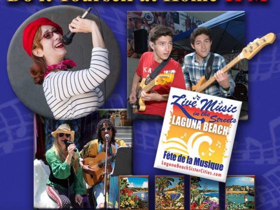 2020 Virtual Laguna Beach Fête de la Musique is streaming live on June 20