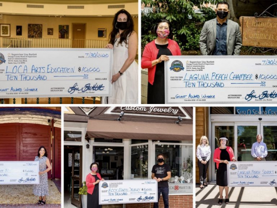 Laguna Beach Chamber News: Lottery winners and opportunity drawings!