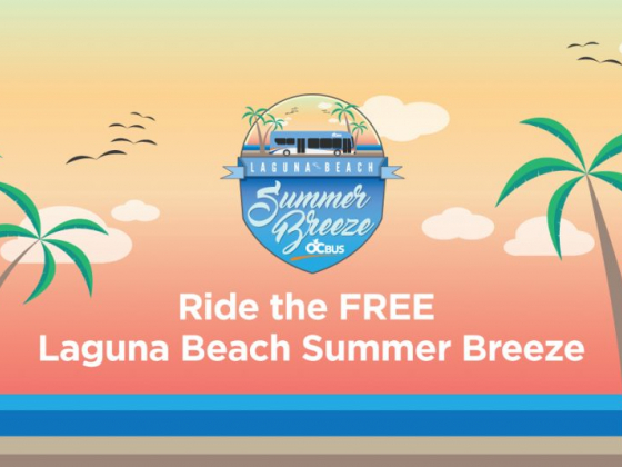 Summer Breeze Service Offers Free Ride to Laguna Beach