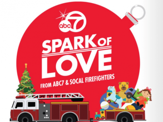 Laguna Beach Fire Department Participating in Spark of Love Campaign